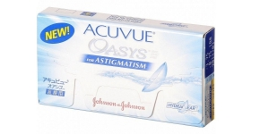 Johnson & Johnson ACUVUE OASYS FOR ASTIGMATISM 6