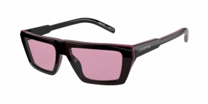 Woobat AN4281 1218/5 CLEAR FUXIA ON BLACK/FUXIA