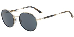 AR6056J 301387 BLUE HAVANA/PALE GOLD