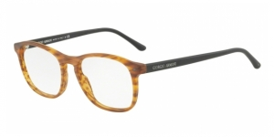 Giorgio Armani AR7003 5562 MATTE STRIPED LIGHT BROWN