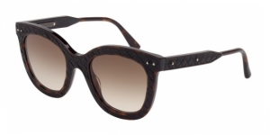 BV0035S-004 BLACK HAVANA / BROWN GRADIENT