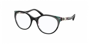BV4192B 5485 BLACK/GREEN/TRANSPARENT VIOLET