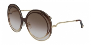 CHLOE Carlina Halo CE170S 221 GRADIENT BROWN