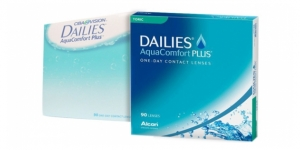 Alcon DAILIES AQUACOMFORT PLUS 90