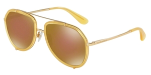 Dolce & Gabbana DG2161 02/F9 OPAL HONEY/GOLD