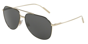 Dolce & Gabbana DG2166 130587 BLACK/PALE GOLD