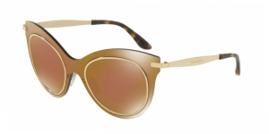 Dolce & Gabbana DG2172 02/F9 BROWN MIRROR BRONZE