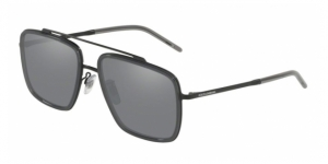 DG2220 11066G MATTE BLACK/TRANSPARENT GREY