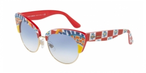 Dolce & Gabbana DG4277 312819 PRINT MAMBO ON RED