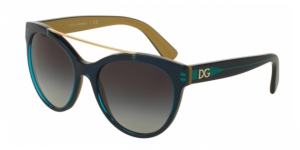 Dolce & Gabbana DG4280 29588G TOP PETROLEUM ON GOLD