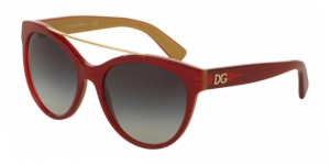 Dolce & Gabbana DG4280 29688G TOP RED ON GOLD