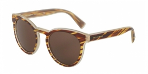 Dolce & Gabbana DG4285 305273 STRIPED HONEY