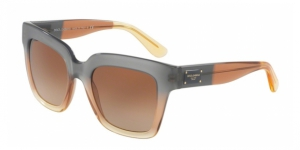 Dolce & Gabbana DG4286 307413 GRAD BROWN/CARAMEL/YELLOW