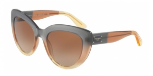 Dolce & Gabbana DG4287 307413 GRAD BROWN/CARAMEL/YELLOW
