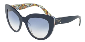 Dolce & Gabbana DG4287 308219 TOP  BLUE ON MAJOLICA