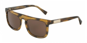 Dolce & Gabbana DG4288 306373 STRIPED BROWN