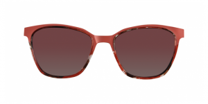 ECO EYRE CLIP-ON BURGUNDY TORTOISE
