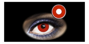Halloween Lens 1 DAY RED EYE 2PK