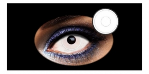 Halloween Lens 1 DAY WHITE EYE 2PK