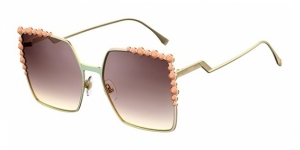 Can Eye FF 0259/S 35J (NQ) PINK (BROWN SM SLV)