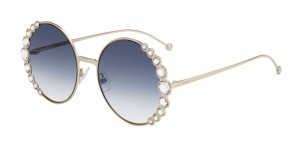Fendi FF 0324/S RIBBONS & CRYSTALS 3YG (08)