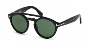 Tom Ford FT0537 01N SHINE BLACK / GREEN