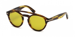 Tom Ford FT0537 48E SHINY DARK BROWN / BROWN