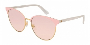 GG0245S 002 SHINY ENDURA GOLD/SHINY LIGHT PINK