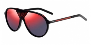 HUGO HG 1091/S OIT (AO) BLK REDGD (RED SP)
