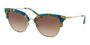 Savannah MK1033 334413 TEAL MOSAIC/SHINY PALE GOLD-TO