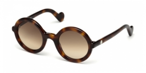 Mrs Moncler ML0005 52F DARK HAVANA
