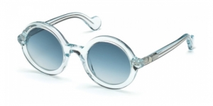 Mrs Moncler ML0005 84W BLUE CLEAR SHINE