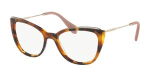 MU 02QV VX81O1 HAVANA/TOP TRANSPARENT BROWN