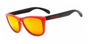 Frogskins OO9013-901334 HERITAGE RED FIRE IRIDIUM