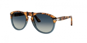 PO0649 112032 BROWN TORTOISE/OPAL BLUE