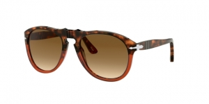 PO0649 112151 BROWN TORTOISE/TRASP BORDEAUX