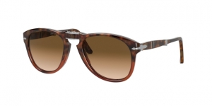 PO0714 112151 BROWN TORTOISE/TRANSP BORDEAUX