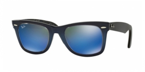 Original Wayfarer RB2140-120368 TOP BLUE GRAD ON LIGHT BLUE