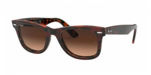 Original Wayfarer RB2140-1275A5 TOP TR RED ON ORANGE HAVANA