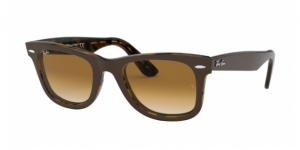 Original Wayfarer RB2140-127651 TOP BROWN ON YELLOW HAVANA