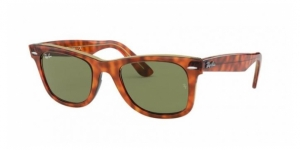 Original Wayfarer RB2140 12934E LIGHT HAVANA ON TRASP YELLOW