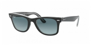 Original Wayfarer RB2140 12943M BLACK ON TRASPARENT