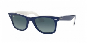 Original Wayfarer RB2140 12993M BLUE ON WHITE