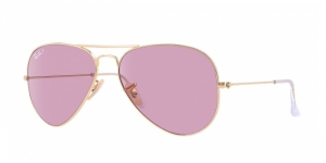 Aviator Large Metal RB3025-001/15 ARISTA CRISTAL POLAR PINK