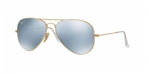 Aviator Large Metal RB3025-112/W3