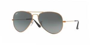Aviator Large Metal RB3025-197/71 SHINY BRONZE