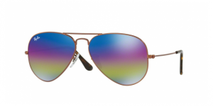 Aviator Large Metal RB3025-9019C2 METALLIC DARK BRONZE
