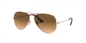 Aviator Large Metal RB3025 903551 TEAM WANG (COPPER)