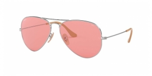 Aviator Large Metal RB3025-9065V7 SILVER