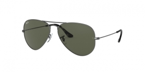 Aviator Large Metal RB3025 919031 SAND TRASPARENT GREY